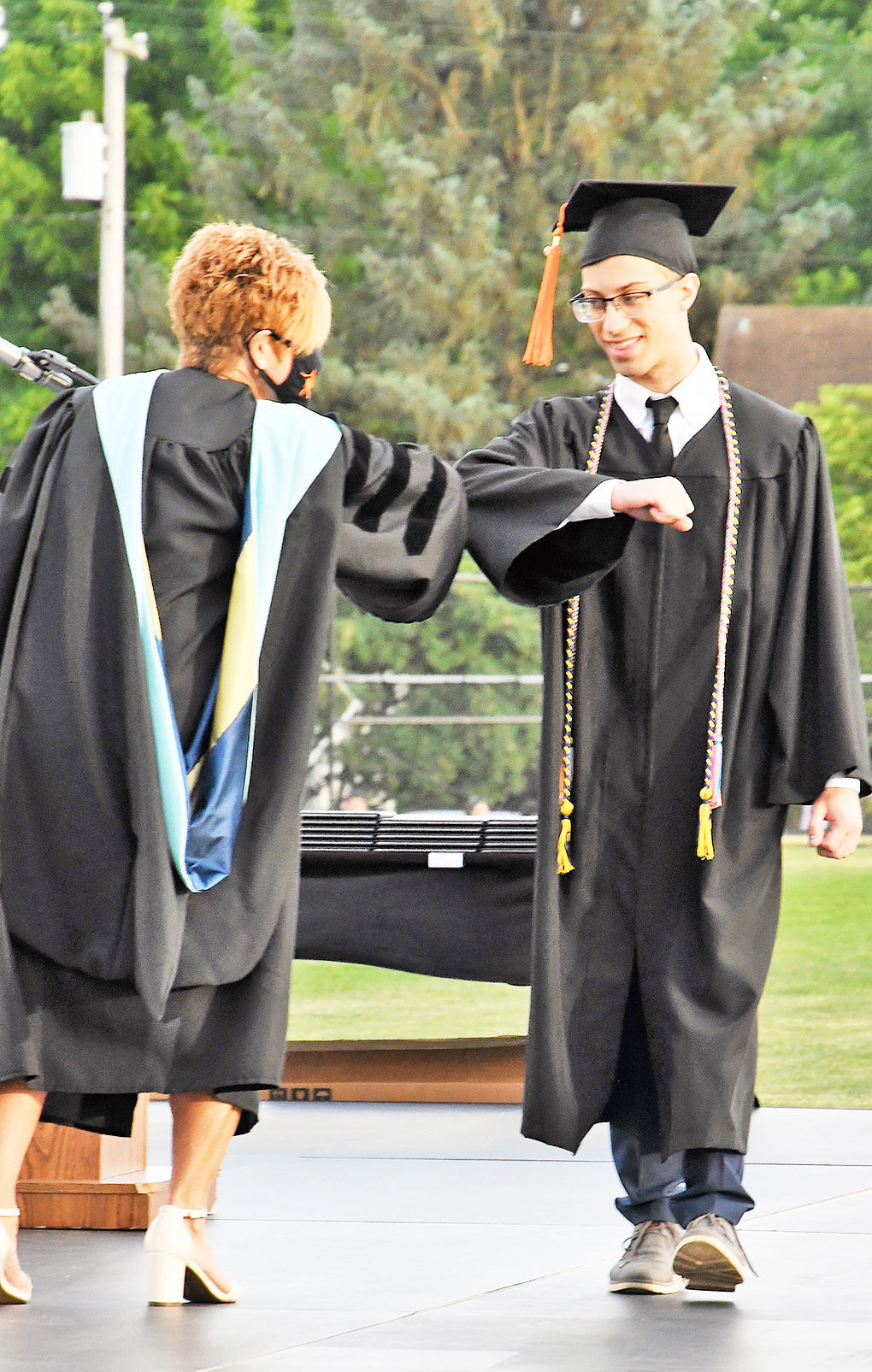 Greater Latrobe grads experience socially distanced ceremony