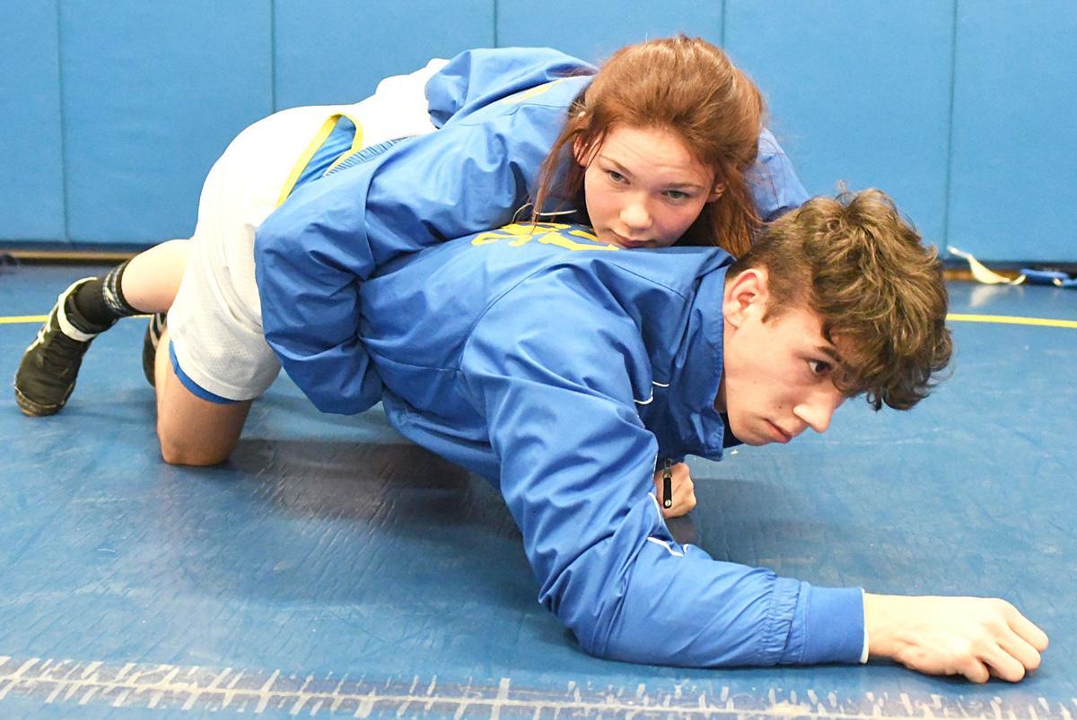 DA's Allen practices wrestling moves