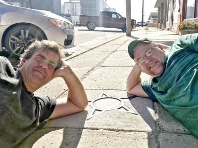 Two old friends from GL high school team up for comedy show