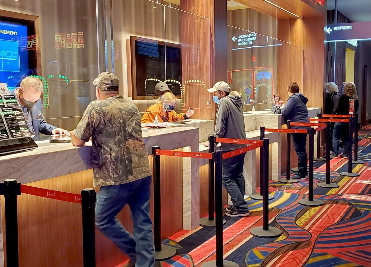 Early birds show up for Live! Casino Pittsburgh's grand opening