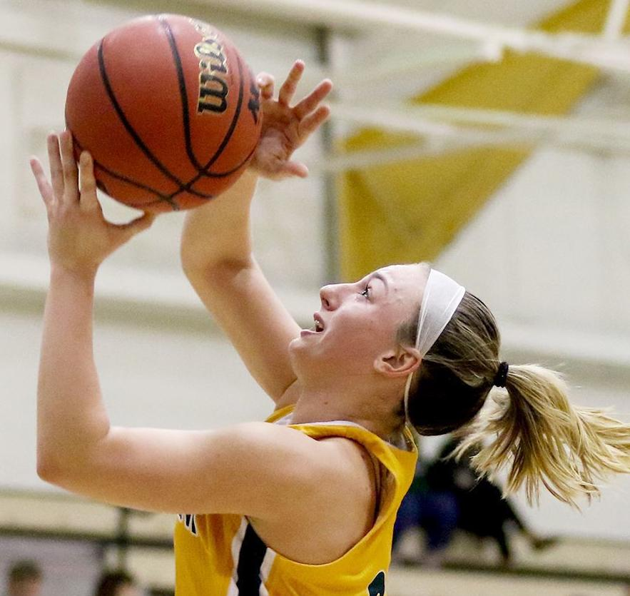 SVC's Lafko goes in for layup