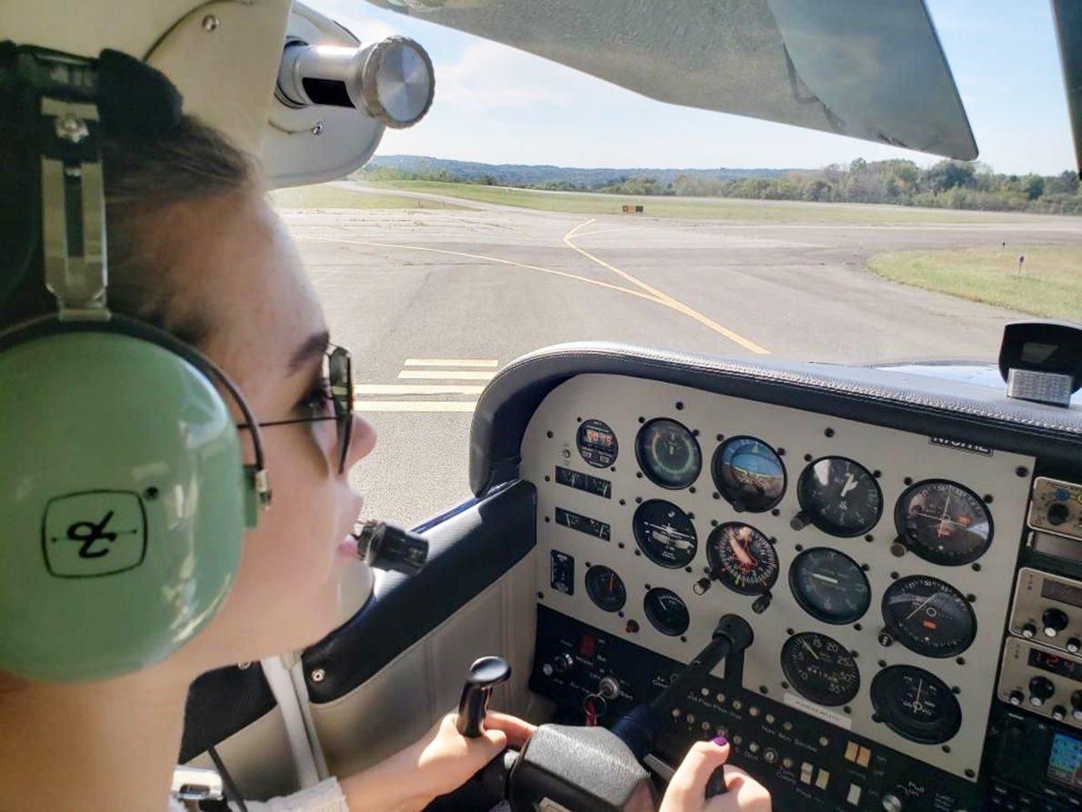 Ligonier teen has lofty aspirations after earning pilot's license