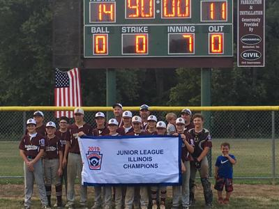 Oglesby Junior League Baseball Team Wins State Title
