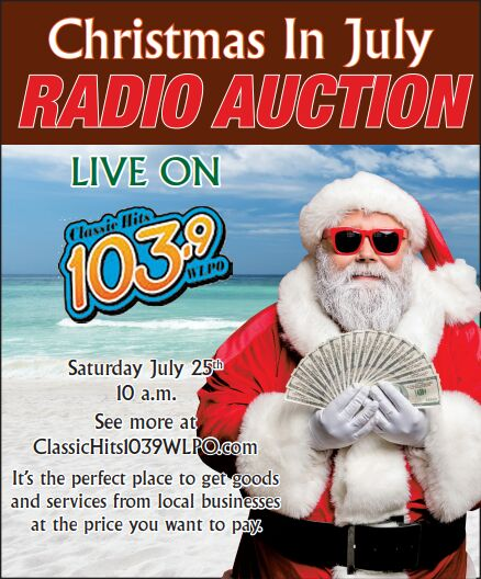 Christmas in July Auction