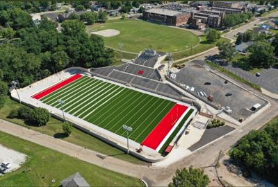Howard Fellows Stadium new turf  (Courtesy of Scott Anderson - Shaw Media_