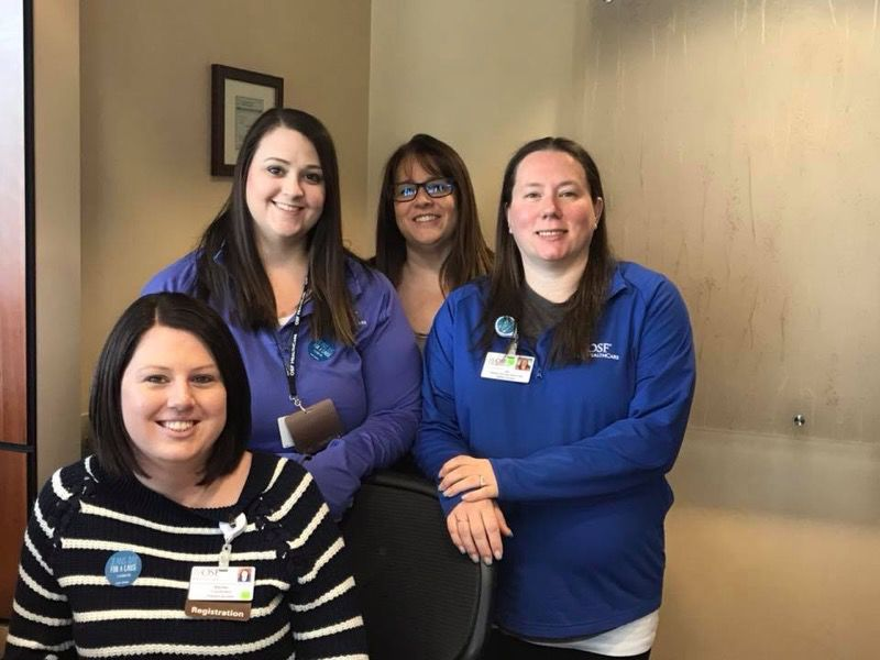 Mission partners at OSF Saint Paul patient access