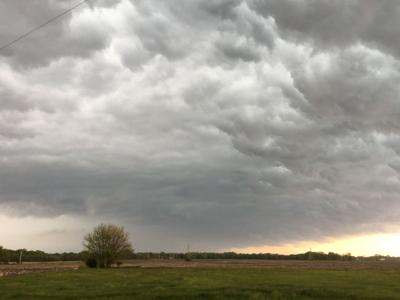 Storm Clouds Over The Illinois Valley