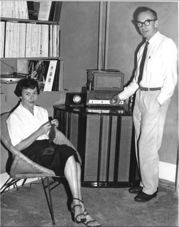 Mary and Peter Miller radio.JPG