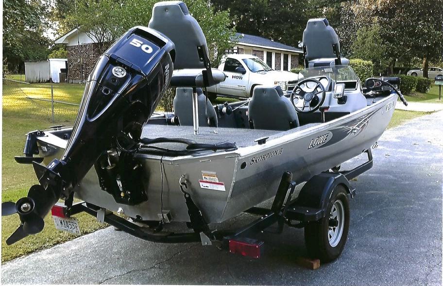 For Sale: 2015 Lowe 16 Scorpion Bass Boat