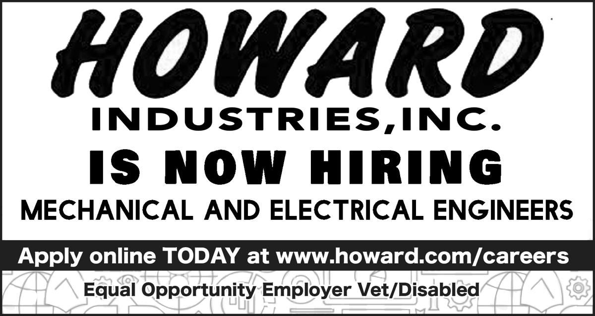 Howards is hiring