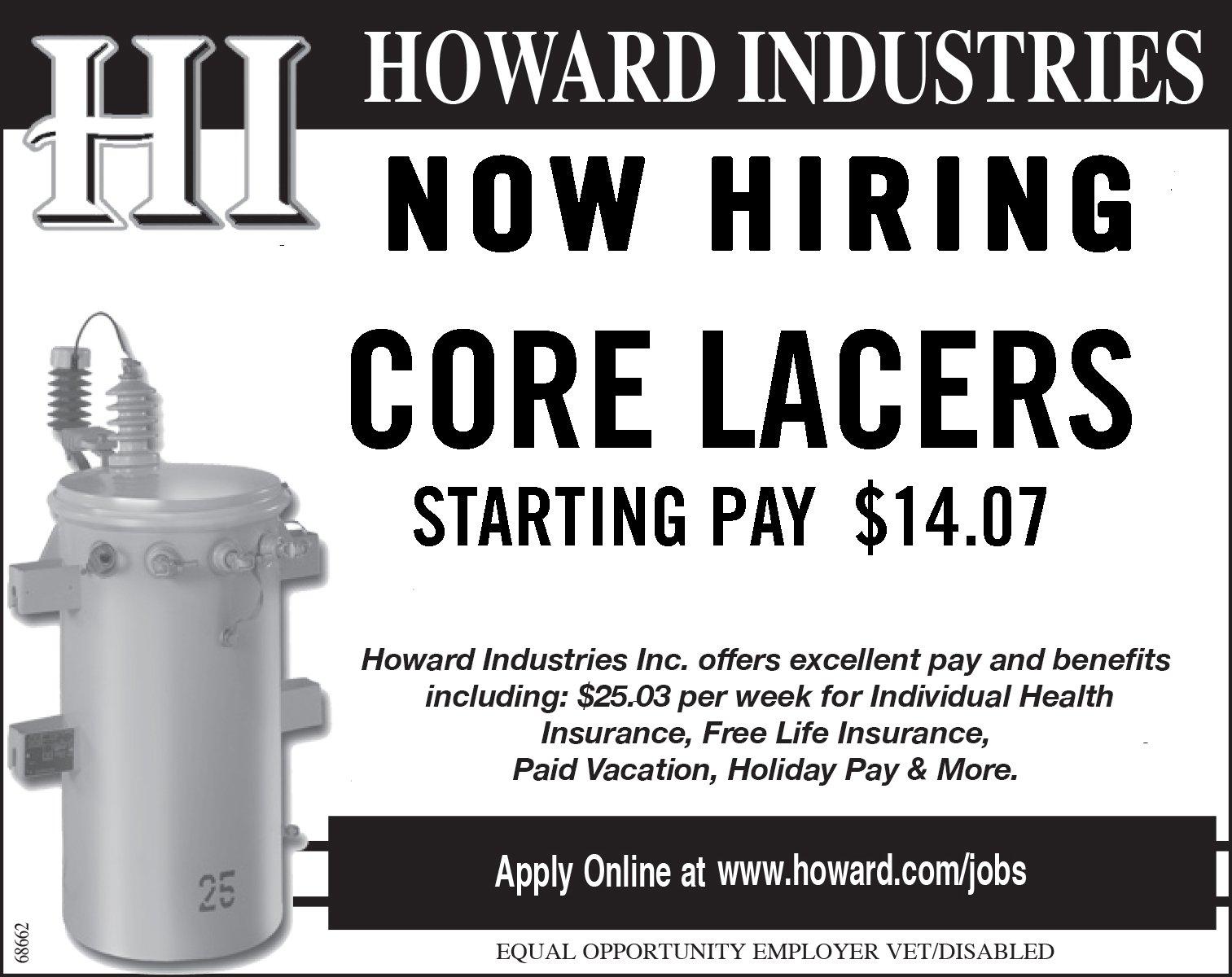 Howard Industries is Hiring!