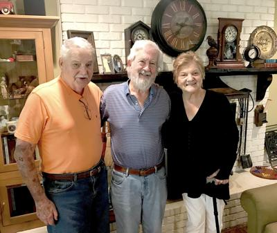 6.12 Landrum, Author Curtis Wilkie, middle, with Tom and Anne Landrum in their home in Jones County. (Photo submitted).jpeg