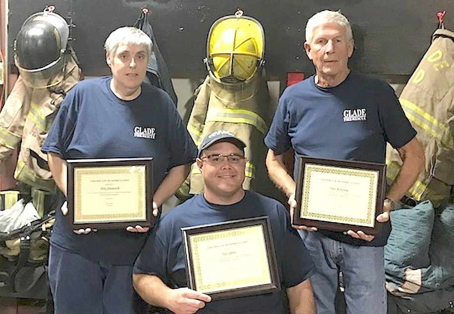 Glade Fire & Rescue celebrates 30 years of service