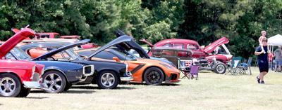 Lane Smith car show