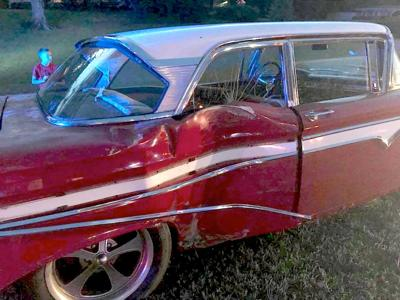 Ford Edsel that was supposed to be taken to Cruisin' the Coast. (Photo submitted)
