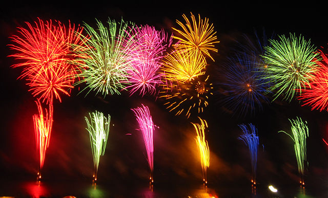 Fireworks to set night skies on fire