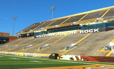 The Rock at Southern Miss