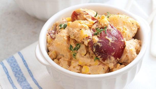 Crawfish potato salad
