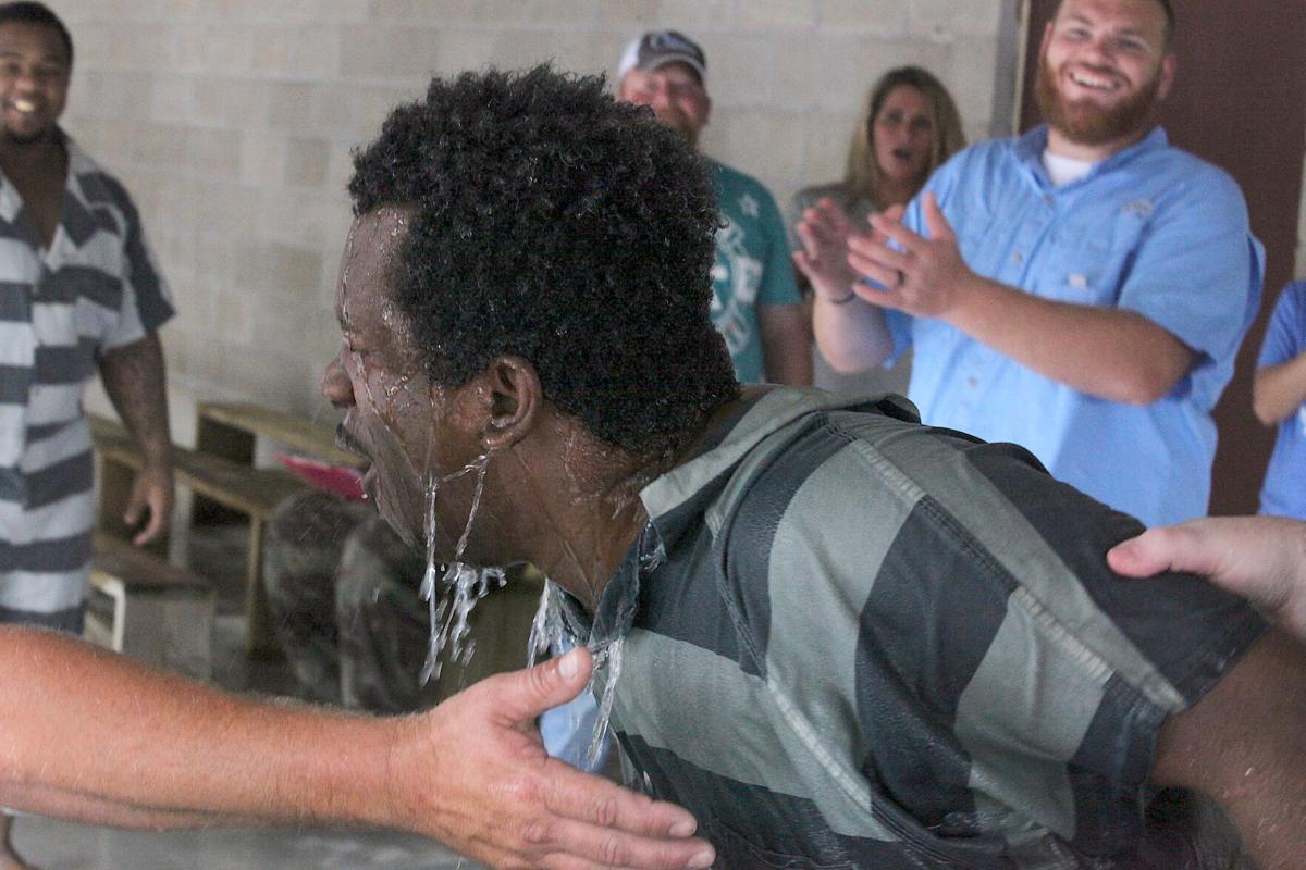Lemuel Henry after being baptized.jpg