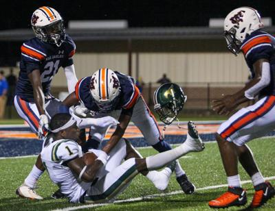 Mustangs win third straight over rival War Eagles