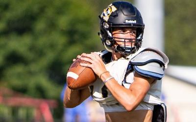Northeast Jones quarterback Mason Smith