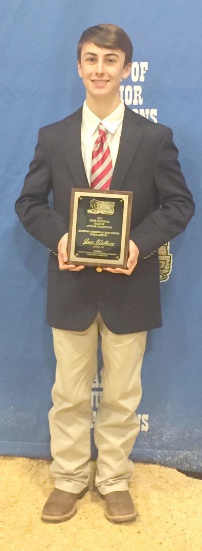 Welborn awarded Dixie National scholarship
