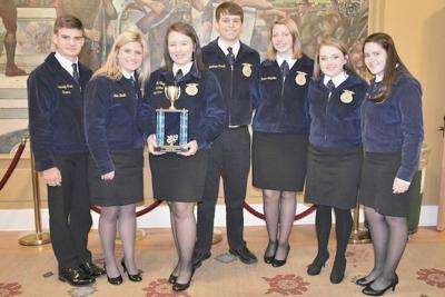 NEJ finishes third at state convention