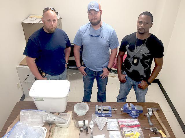 Drug arrest LPD