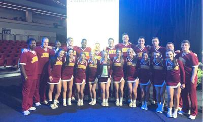 JC cheerleaders