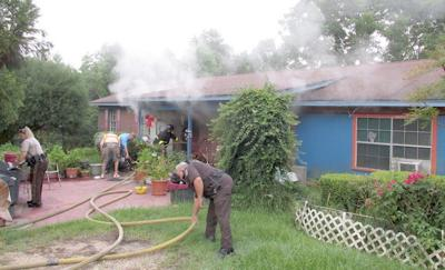 Vols save home from fire