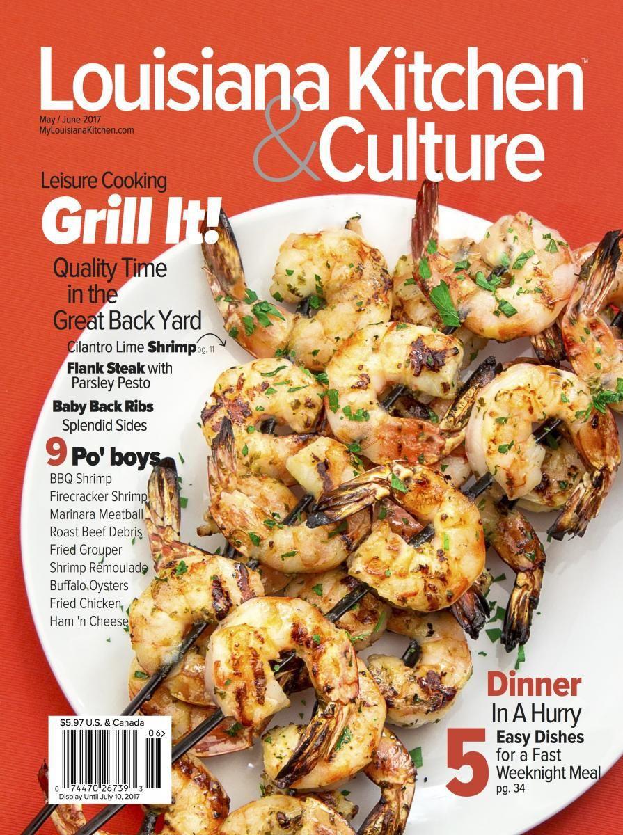 Louisiana Kitchen & Culture Magazine Cover
