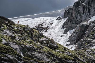 Mount Massive's ridge