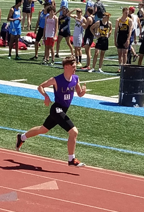 1,600-meter run