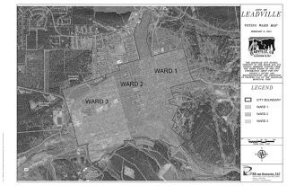 WARD MAP OF THE CITY