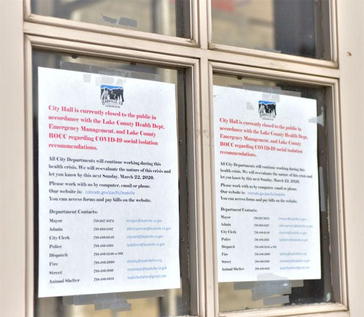 Closure notices