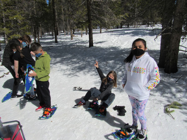Gear up for a snowshoe