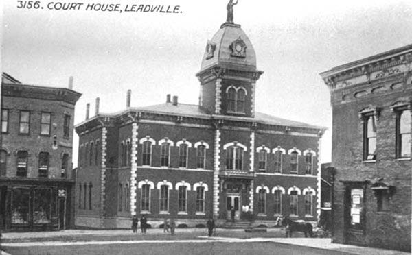 Original Leadville Court House