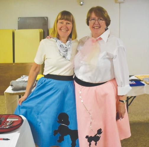 Cheryl Wells and Carol Glenn