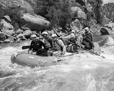 Rafting Browns Canyon
