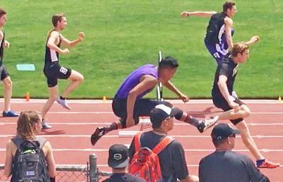 300-meter hurdles