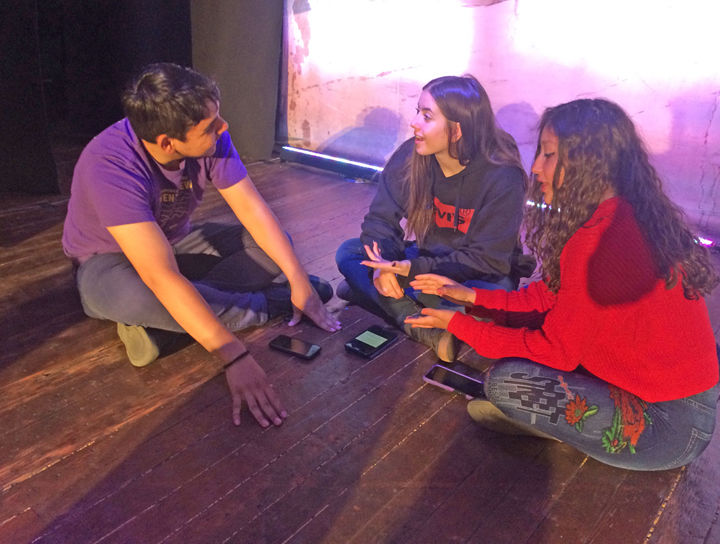 Edgar Tarango, Taylor Duel and Stephanie Reveles