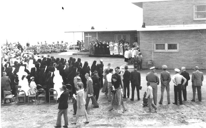 1958 dedication