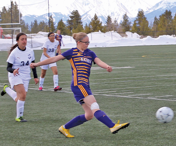 Abby Holm on the field