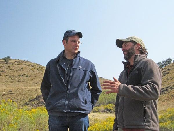 Phil Weiser and Adam Beh