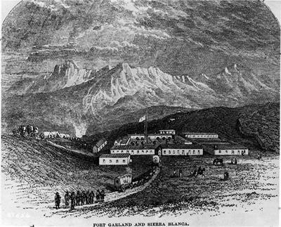 Depiction of Fort Garland