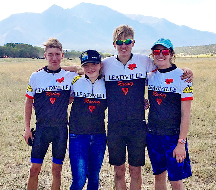 Leadville Racing team