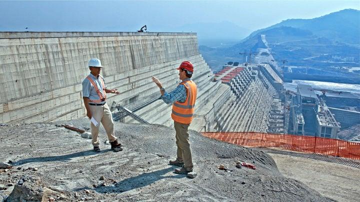 Hydroelectric dam in Ethiopia