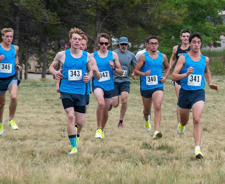 The CMC Cross-Country Running Team