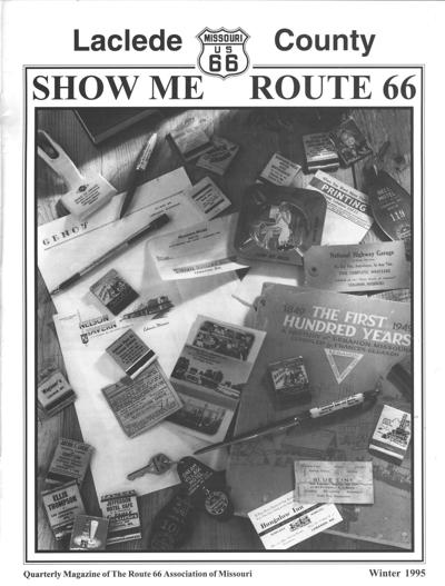 Cover of Winter 1995 Show Me Route 66 magazine