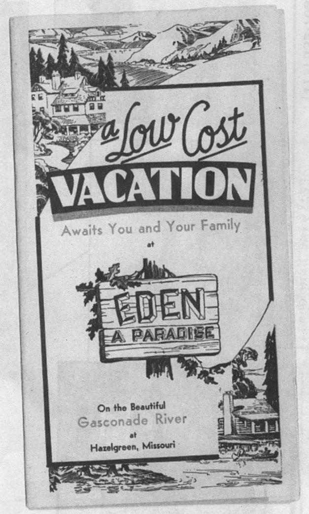 Brochure for Eden Resort